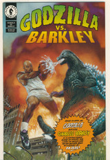 1993 Dark Horse Godzilla vs. Barkley Comic Book  """"