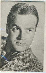 Bob Hope Exhibit Card, Post Card Back  Made in The USA