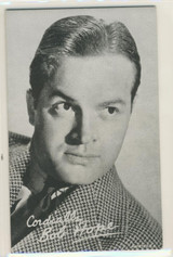 Bob Hope Exhibit Card Blank Back  Made in The USA