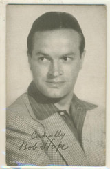 Bob Hope Exhibit Card Lower Left Made in USA Blank Back