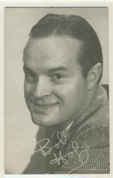 Bob Hope Exhibit Card Lower Right Made in USA
