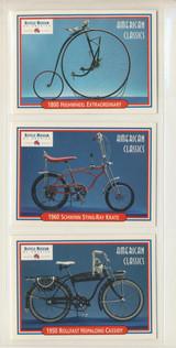 1980/90's TCM Associates Inc Bicycle Museum Of America Prototype Set 3  #*
