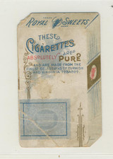 Royal Sweet Cigarettes With Baby On Back