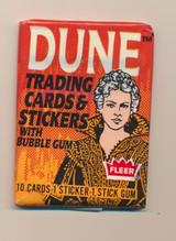1984 Fleer Dune Wax Pack  #*