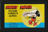 1995 Mickey Mouse Picture Cards & Album Reproduced Box Set 96 Cards  """"