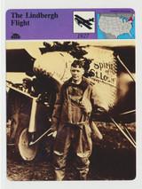 """1979 Sportcasters #03-012-01-10 Printed In Japan The Lindbergh Flight  """""""""""