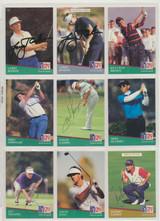 1992 Pro Set  Golf  Autographics Cards Lot 24   #*