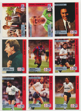 "1990/91 Pro Set English Soccer Set 100  """""
