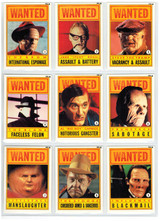 """1990 Topps Dick Tracy Stickers Set 11  """""""""""