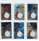 2004 Oscar Mayer Spider-Man Decoder Cards Set 6  #*