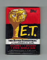 """1982 Topps  E. T. """"Extra-Terrestrial"""" Unopened 1 Wax Pack  #*"""