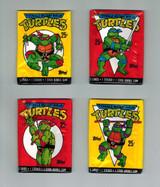 1989 Topps Teenage Mutant Ninja Turtles Unopened Lot 4 Wax Packs  #*
