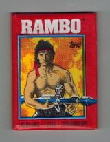 1985 Topps Rambo Unopened 1 Wax Pack  #*