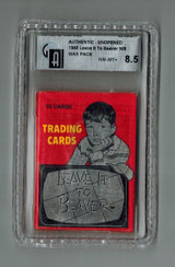 1985 Pacific  Leave It To Beaver Unopened GAI 8.5 NM-MT+  #*