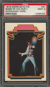 1978 ELVIS #37 SOME OF HIS EARLY.. PSA 9 MINT   #*