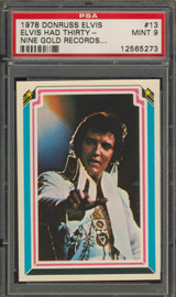 1978 ELVIS #13 ELVIS HAD THIRTY.. PSA 9 MINT   #*