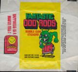 "1977 DONRUSS FANTASTIC ODD RODS WRAPPER   """""