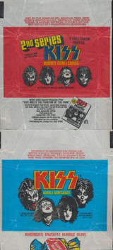 """1978 Donruss Kiss Series 1 & 2 Wrappers  """""""""""
