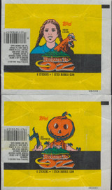"""1985 TOPPS RETURN TO OZ (4) DIFFERENT WRAPPERS   """""""""""
