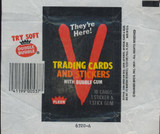 1984 FLEER V TRADING CARDS AND STICKERS WRAPPER   #*