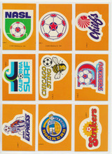 """1979 Topps N.A.S.L. Soccer Stickers Set 33  """""""""""