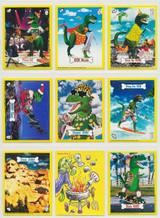 1987 Donruss Wacko Saurs Set 48   #*