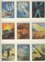 1983 WTW Productions Defend America Set 24 With 1 Cover Card  """"