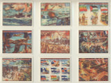 1983 WTW Productions United Nations At War Set (24) With Cover Card  #*