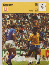 1977  Sport Casters Soccer PELE