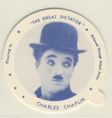 2002 Dixie Lid Hall Of Fame Charlie Chaplin Nr-Mt