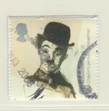 2006 Card Times U.K. Stamp Charlie Chaplin Nr-Mt Blank Back  #*
