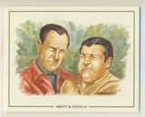 1992 Victoria Gallery London Partners Film Stars #2/20 Abbott & Costello Nr-Mt