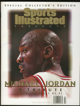 1999 Michael Jordan Sport Illustrated Collectors Edition