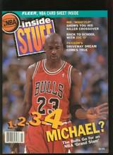 1993 Michael Jordan Inside Stuf & NBA Hot Shots Lot of (2)