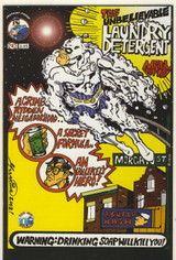 2002 Warning: Drinking Soap Will Kill You?  (2) Comic Books #1 and #2 Very Limited
