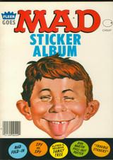 1983 FLEER MAD STICKER ALBUM  #*