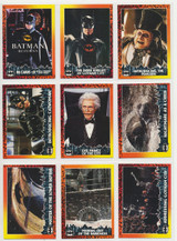 1992 Topps Batman Returns Set 88 No Stickers  #*