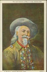 Buffalo Bill Last Portrait of Buffalo Bill
