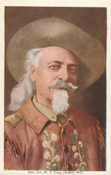Buffalo Bill Post Card #4535 Portrait