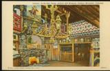 Buffalo Bill Post Card Interior Pa-Ha-Ska Tepee
