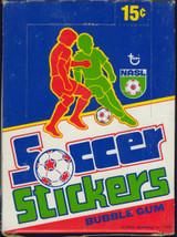 """1979 Topps NASL Soccer 36 Wax Packs  """""""""""