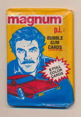 1983 Donruss Magnum P. I. Wax Pack   #*