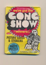 1979 Fleer The Gong Show Wax Pack  """"