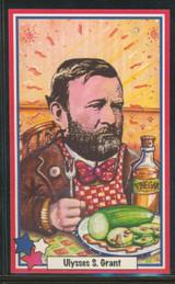 1990 Drakes Cakes Presidents #4 Ulysses S. Grant  #*