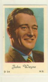 John Wayne D24 From Holland Blank Back  #*