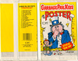 1986 Topps Garbage Pail Kids Posters Unopened 1 Wax Pack  #*