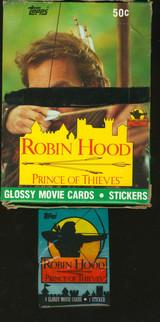 1991 TOPPS ROBIN HOOD PRINCE OF THIEVES (36) WAX PACKS ** BLACK LINE