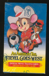 1991 IMPEL AN AMERICAN TAIL FIEVEL GOES WEST (36) WAX PACKS