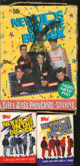 1989 TOPPS NEW KIDS ON THE BLOCK (36) WAX PACKS