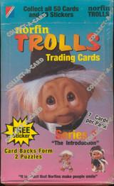 1992 COLLECT-A-CARD NORFIN TROLLS SERIES 1